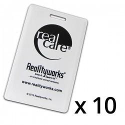 RealCare sensorsæt til babysimulatorens autostol (10 stk)-20